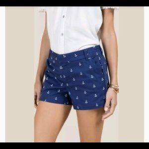Cambridge Dry Goods | Nautical Anchor Shorts